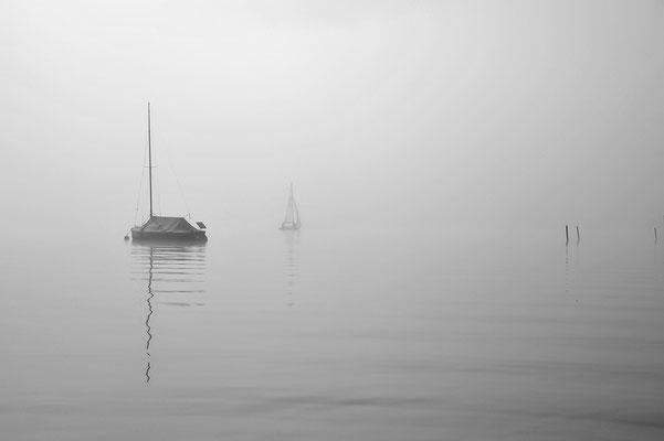 Segelboote am Starnberger See / Deutschland (Bildnummer 1709)
