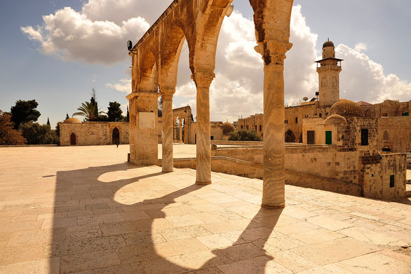 Torbögen der AL-Aqsa-Moschee / Israel (Bildnummer 100318_3064)