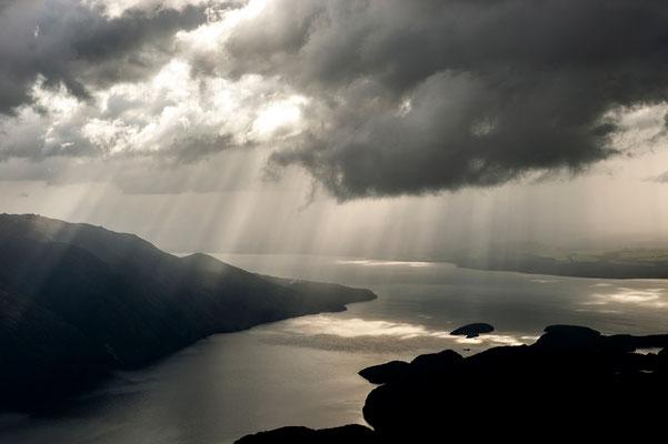 Lichtstimmung am Kepler Trek / Neuseeland (Bildnummer 6924)