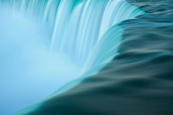 Langzeitbelichtung an den Niagara Wasserfällen / Kanada (Bildnummer 1441)