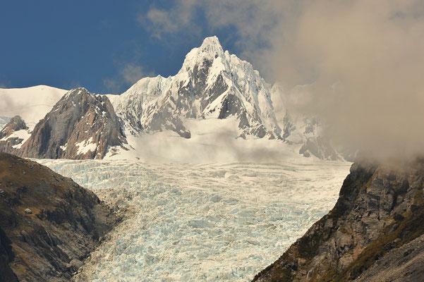 Der Fox-Gletscher in Neuseeland (Bildnummer 0927)