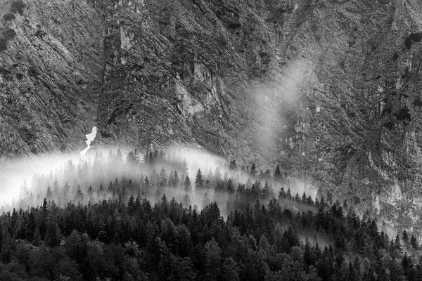 Nebel am Franzosensteig / Mittenwald