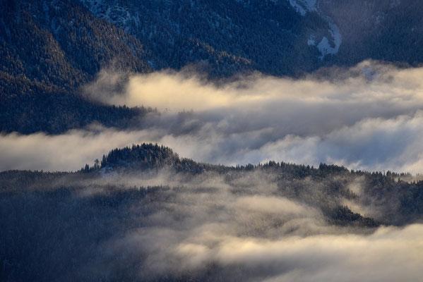 Winteranfang im Karwendel / Deutschland (Bildnummer 754950)