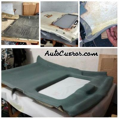 tapiceria de techo automotriz cartagena