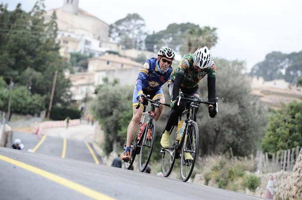 Foto: José Manuel Palomares, Randonneur, auf Mallorca.