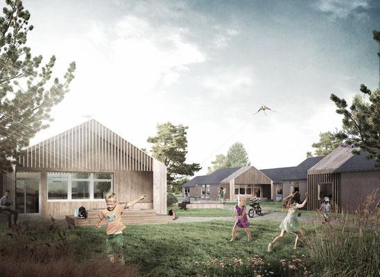 Kinderlandheim auf Sylt - Heusner Melmert Architekten
