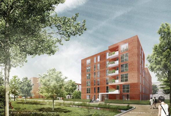 Ivensweg (1. Preis) - Czerner Göttsch Architekten