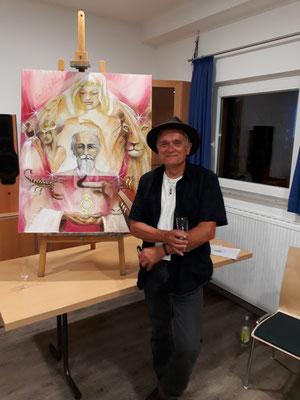 Jopie Bopp Spiritueller Künstler, Malerei