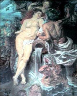 Cerere e Nettuno, copia da Rubens