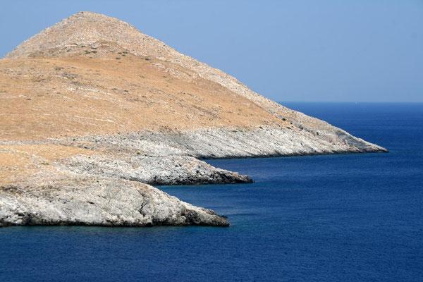 Hügel am Meer
