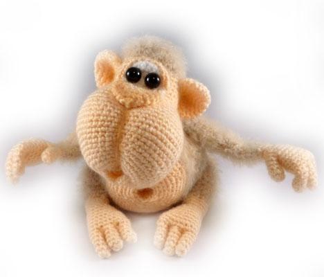 Карамельный обезьян от Ирины Чудовой