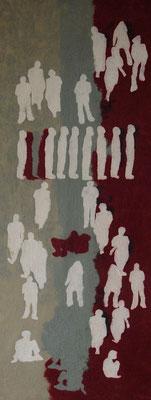 ausgeliefert, Filztuch, 2011