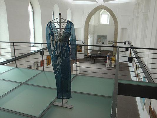'channel system' (1995), VKU-Sommerausstellung, Ausstellungsbeteiligung, Spitäle Würzburg, Empore, 2010