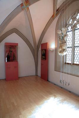 'schmerzRaum' Museum Johanniskapelle Gerolzhofen, Empore, 2014