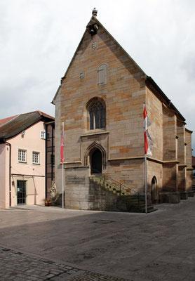 Museum Johanniskapelle Gerolzhofen, Außenansicht, 2014