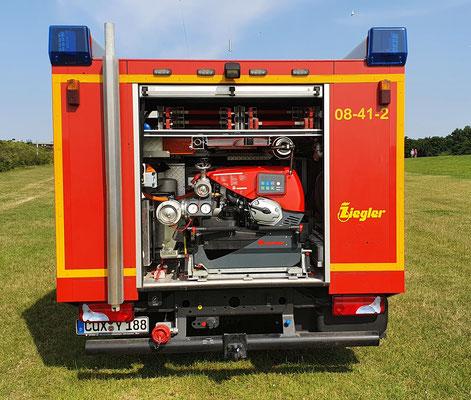 Tragkraftspritze von Rosenbauer - Fox III / © Freiwillige Feuerwehr Cuxhaven-Duhnen