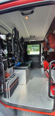 Mannschaftsraum mit Klapptisch / © Freiwillige Feuerwehr Cuxhaven-Duhnen