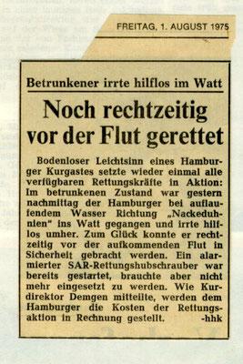 1975 © FF-Duhnen