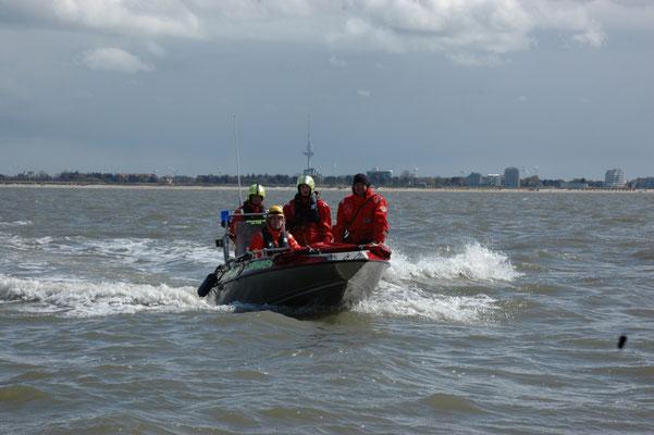 Das Boot der BF © FF.Cuxhaven-Duhnen