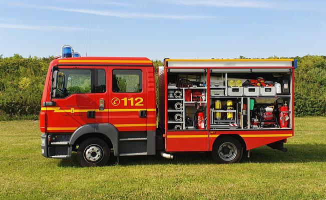 Fahrerseite © Freiwillige Feuerwehr Cuxhaven-Duhnen