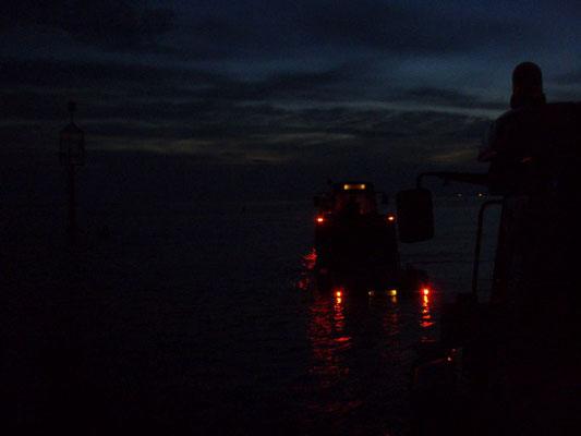 Vor dem Duhner Priel an der heutigen Rettungsbake 6 © FF-Duhnen