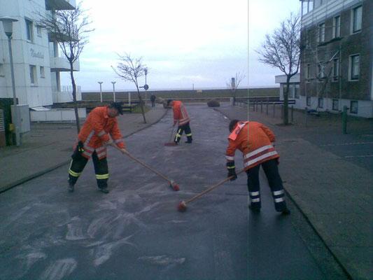 24.01.09 - Zwischendurch mal ne Ölspur © FF-Duhnen