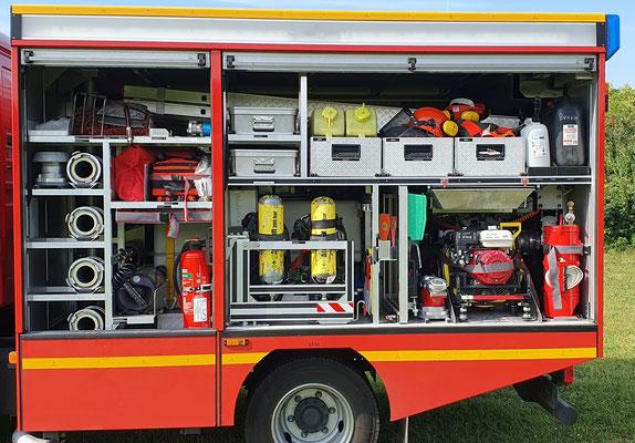 Fahrerseite G1/G3 © Freiwillige Feuerwehr Cuxhaven-Duhnen