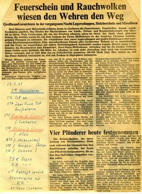 1961 © FF-Duhnen