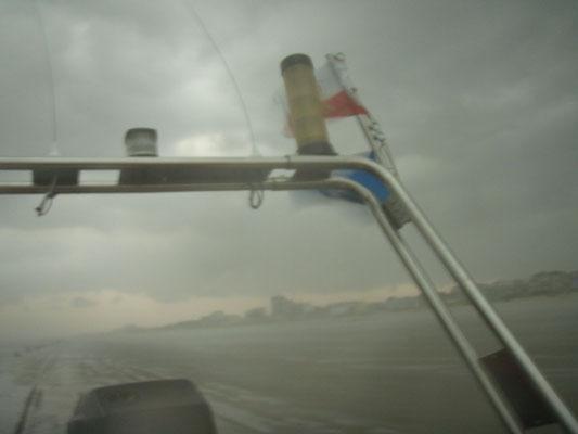 26.08.11 A - Personensuche im Watt bei starkem Gewitter, kein Hauptgewinn !!! © FF-Duhnen