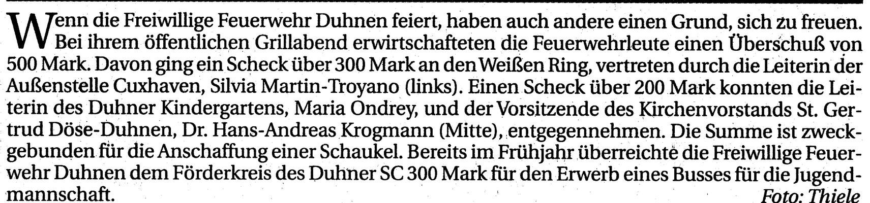 1994 © FF-Duhnen