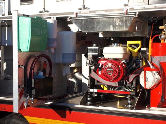 Hygienebord und Druckbelüfter / © Freiwillige Feuerwehr Cuxhaven-Duhnen