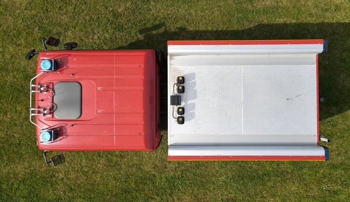Dach © Freiwillige Feuerwehr Cuxhaven-Duhnen