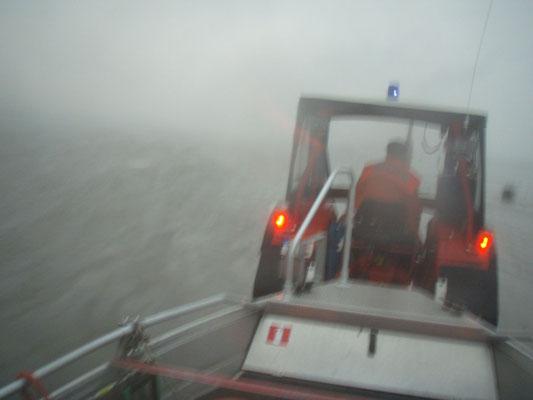26.08.11 B - Starkwind mit Sturzregen und Hagel © FF-Duhnen