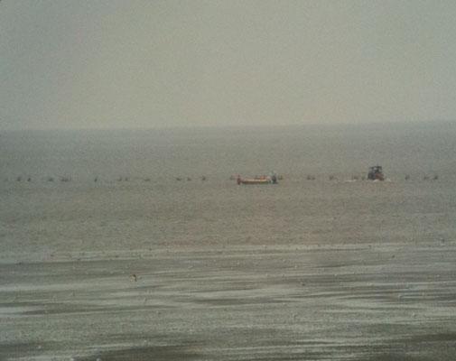 Das Boot ist abgesetzt © FF-Duhnen