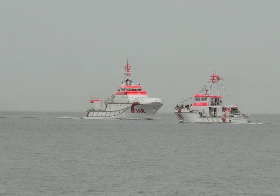 .... und dann kam von See her noch die Marwede © FF.Cuxhaven-Duhnen