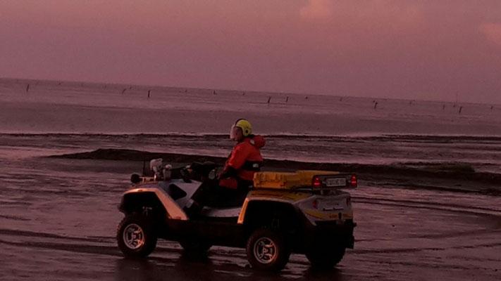 Der Quadski der NC - GmbH© Freiwillige Feuerwehr Cuxhaven-Duhnen