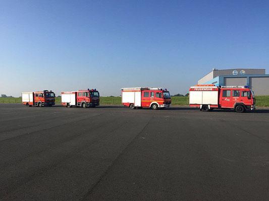 Die Teilnehmer © Freiwillige Feuerwehr Cuxhaven-Duhnen