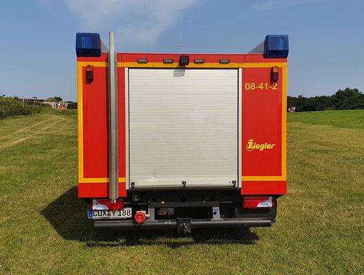 Heck © Freiwillige Feuerwehr Cuxhaven-Duhnen
