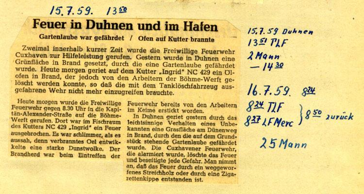 13.07.59 © FF-Duhnen