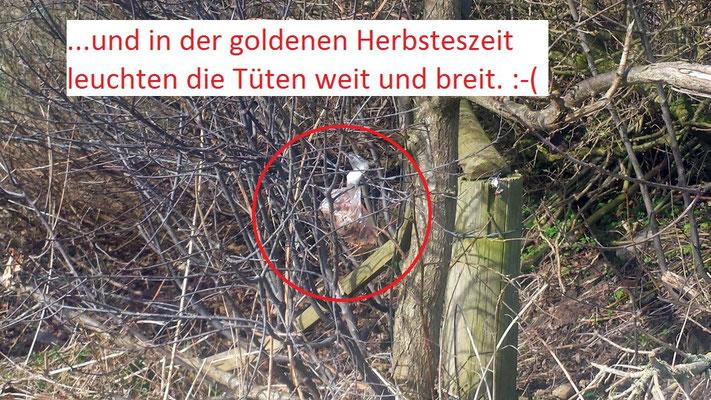 ...und immer wieder Hundekottüten in verschiedenen Farbvarianten © Freiwillige Feuerwehr Cuxhaven-Duhnen