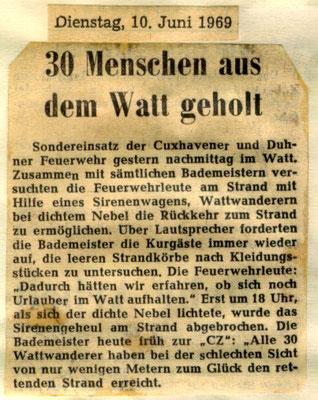 1960 © FF-Duhnen