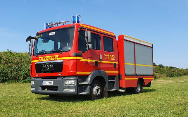 Tragkraftspritzenfahrzeug - Wasser / © Freiwillige Feuerwehr Cuxhaven-Duhnen