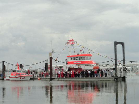 Kurz vor der Taufe © FF.Cuxhaven-Duhnen