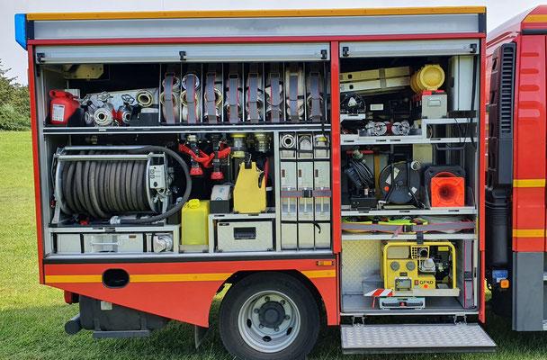 Beifahrerseite G2/G4 / © Freiwillige Feuerwehr Cuxhaven-Duhnen