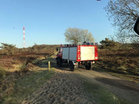Das Waldbrand - Tanklöschfahrzeug aus Sahlenburg © FF-Duhnen