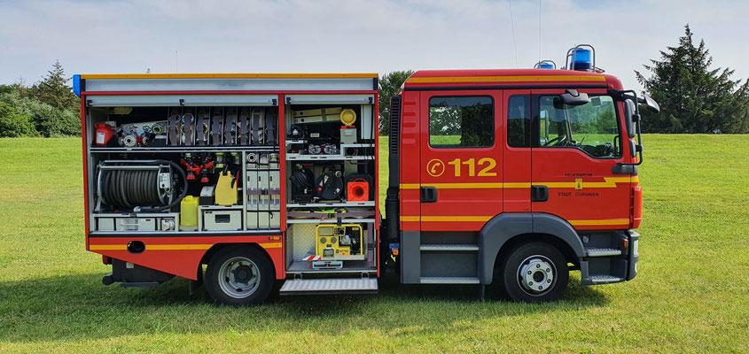 Beifahrerseite © Freiwillige Feuerwehr Cuxhaven-Duhnen