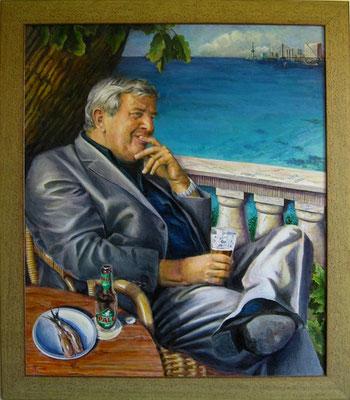 'André van der Lee', acrylic on canvas,