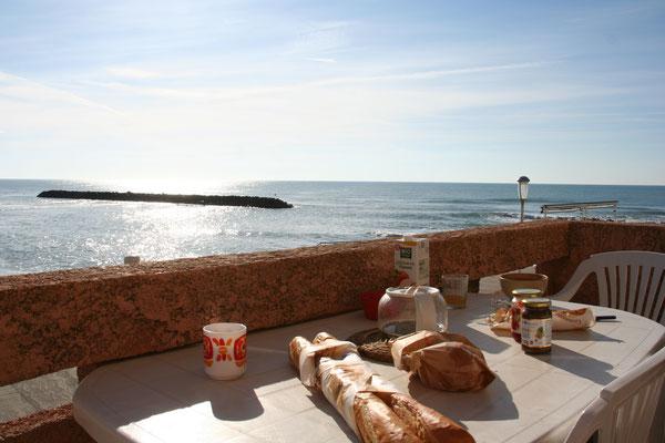 Cap d'Agde face à la mer location de maison