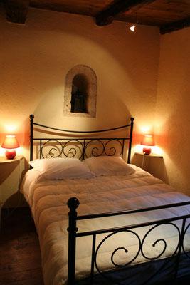 chambre couchage gite sud du lot occitanie