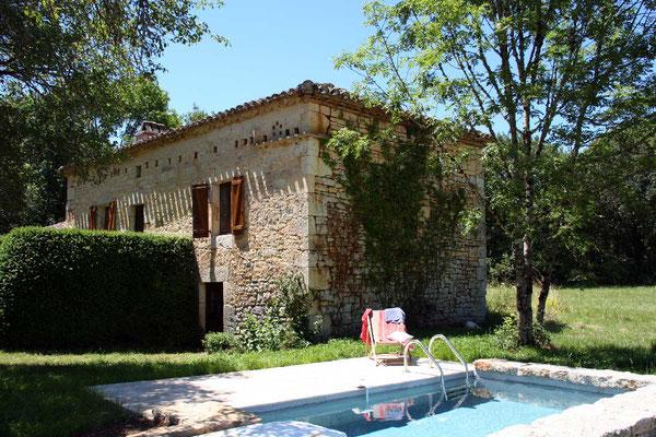 piscine du gite La Chevalière
